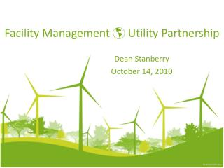Facility Management  Utility Partnership