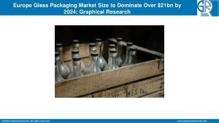 Europe Glass Packaging Market Size Predicted to Reach at $21 bn by 2024