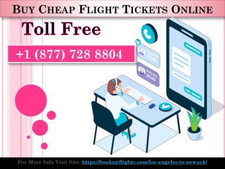Cheap Flights From Los Angeles To Newark – Get Upto 40% off
