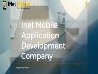 Inet mobile application development in chennai