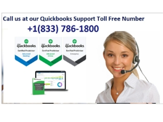 Quickbooks pro customer care Number 1-(833)-786-1800