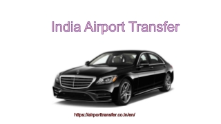 India Airport Transfer