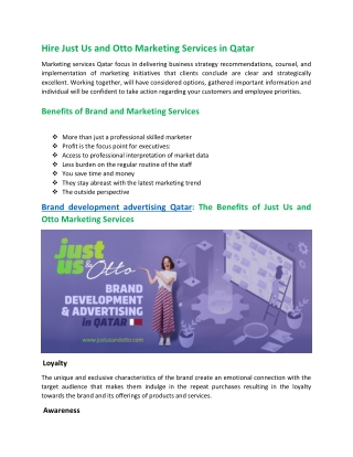 Qatar Marketing Services