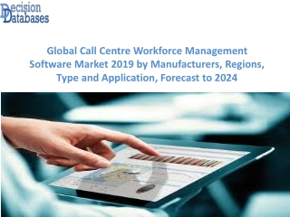 Global Call Centre Workforce Management Software Market Research Report 2019-2024