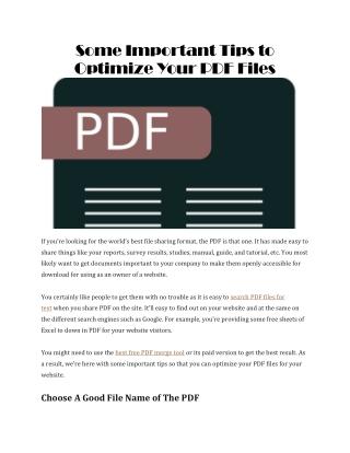 Best free PDF merge tool