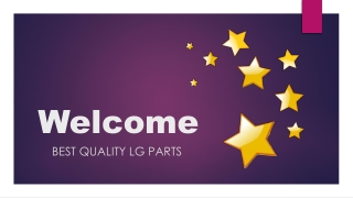 Best Quality Lg Parts in Canada only with Esource Parts