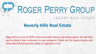 Beverly Hills Real Estate