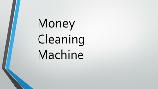 Currency Cleaning Chemical Formula