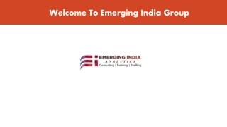 Best Data Analytics Consulting   Training   Staffing - Emerging India Group