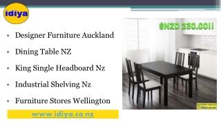 Dining Table NZ, Designer Furniture Auckland - Idiya.co.nz