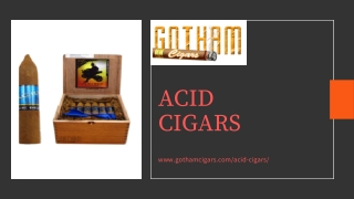 Get Discounted ACID Cigars - Gotham Cigars