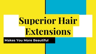 Buy Superiro Colourful hair Extensions