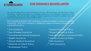 Best Insurance company in delhi -Starinsured