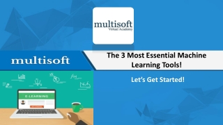 The 3 Most Essential Machine Learning Tools!