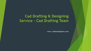CAD Drafting Services - Architectural Drafting Services – Caddraftingteam.com