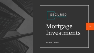 Contributory mortgage investment & fund | Secured Capital Investments