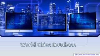 Zip Code Database