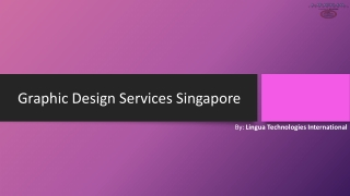 Looking for Graphic Design Services in Singapore