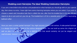 Wedding event Hairstyles The Ideal Wedding Celebration Hairstyles