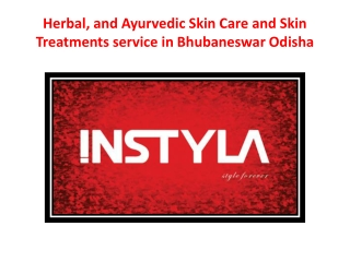 Herbal, and Ayurvedic Skin Care and Skin Treatments service in Bhubaneswar Odisha