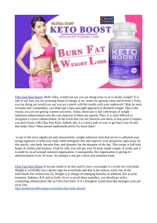 http://wellnessoffersdeal.com/ultra-fast-keto-boost/