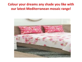 Colour your dreams any shade you like with our latest Mediterranean MOSAIC range!