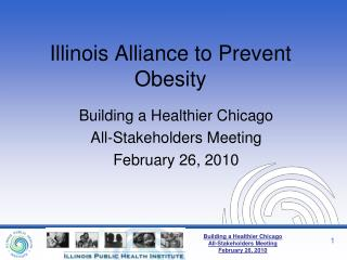 Illinois Alliance to Prevent Obesity