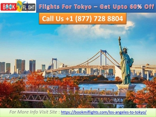 Cheap Flights From Los Angeles To Tokyo - Get Upto 60% Off