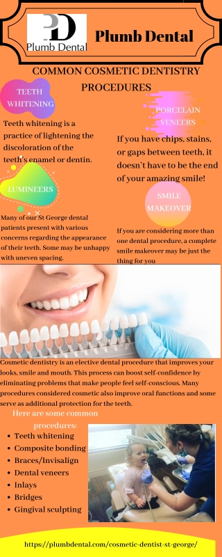Common Cosmetic Dentistry Procedures in st. George