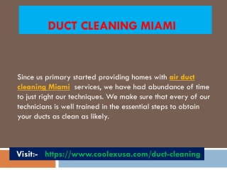 Duct cleaning near me
