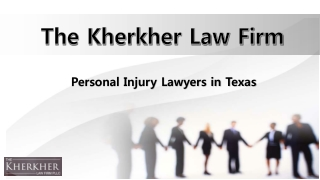Personal Injury Lawyers in Texas, Car Accident Attorneys