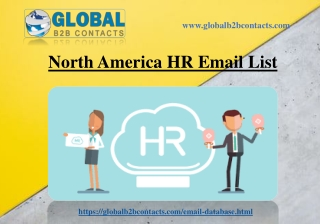 North America HR Email List
