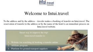 Airport Transfer | Intui.Travel
