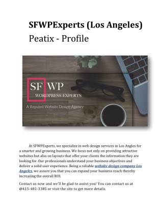 SFWPExperts (Los Angeles) - Peatix - Profile
