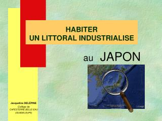 HABITER  UN LITTORAL INDUSTRIALISE