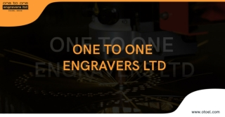 Excellent metal services by OTOEL engravers.