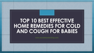 Top 10 Best Home Remedies for Constipation in Babies