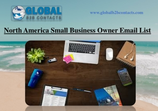North America Small Business Owner Email List