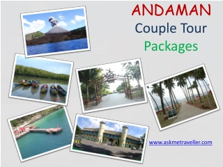 Andaman Couple Tour Packages