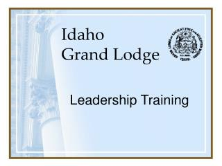 Idaho  Grand Lodge