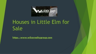 Houses in Little Elm for Sale
