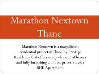 Marathon Nextown Thane