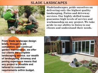 Sladelandscapes