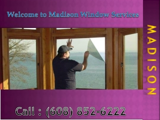 Window Tinting Service in Madison