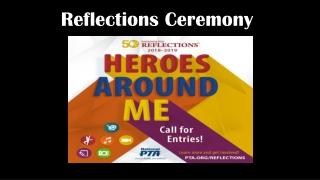 Reflections Ceremony