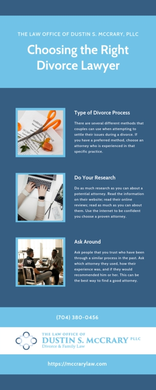 How to Choose a Divorce Lawyer [INFOGRAPHIC]