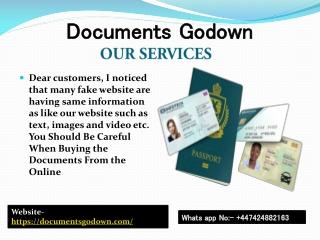 Buy Passport, Buy ID Card Online, Buy Genuine Driver's License