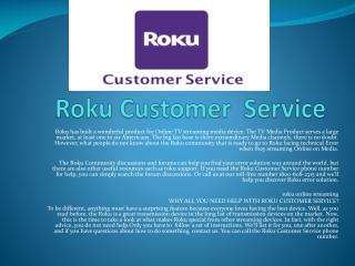 Roku Customer Service