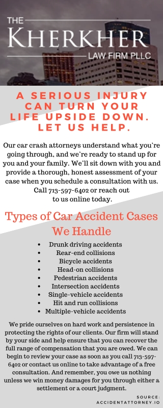 Car Accidents Attorney Texas