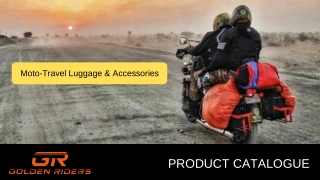 GoldenRiders Motorcycle Bags & Accessories